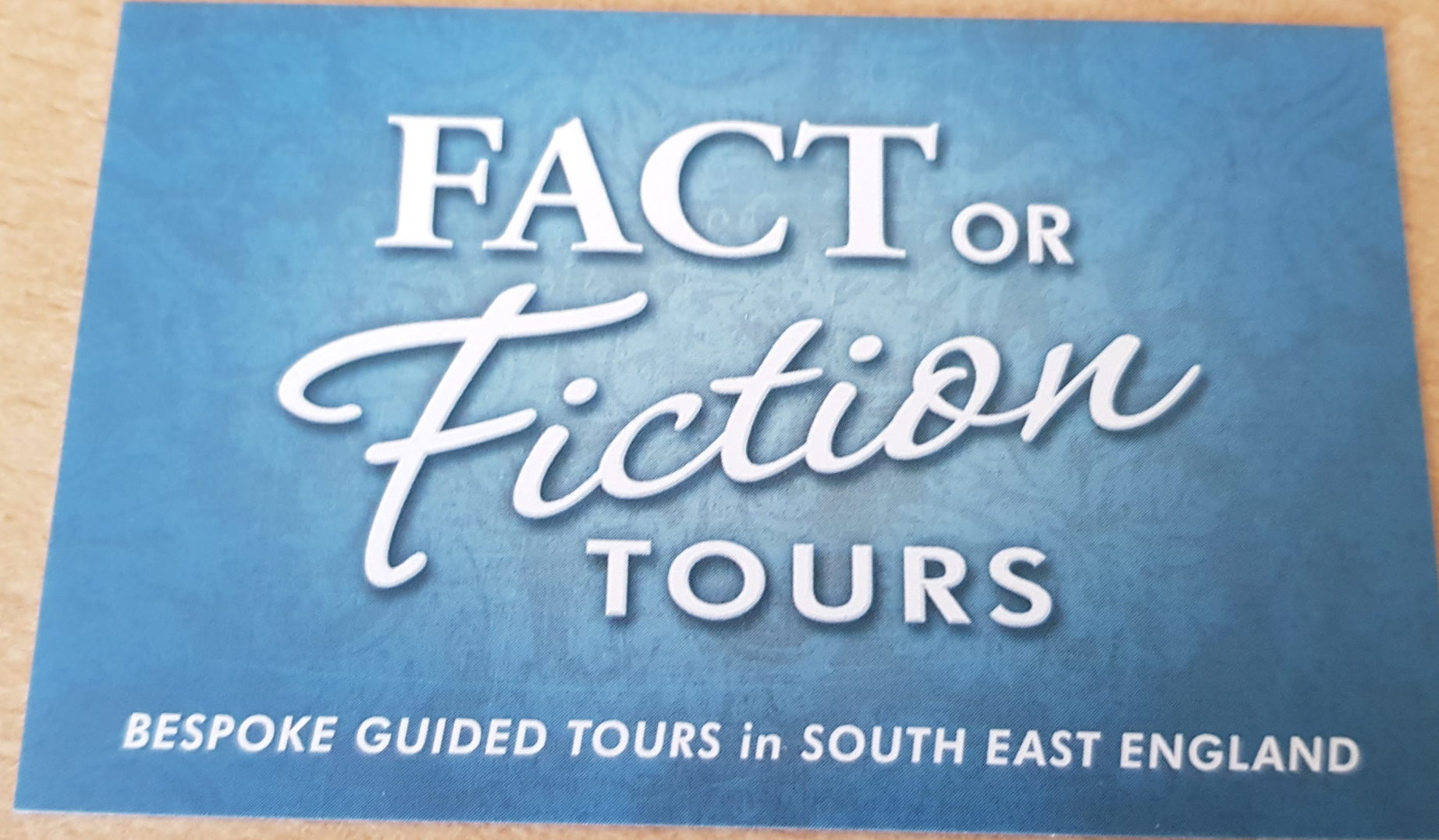Fact or Fiction Tours